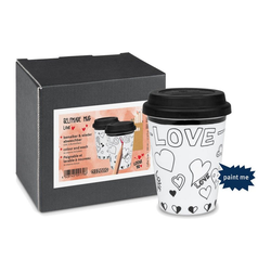 Könitz Coffee-to-go-Becher Selfmade Mug - Love 380 ml