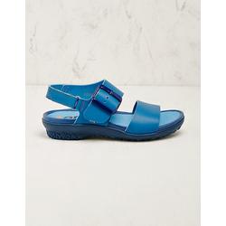 art Damen Leder-Sandalen Eleta blau