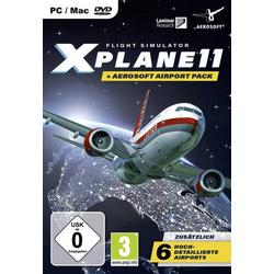 Aerosoft XPlane 11 + Airport Pack PC USK: 0