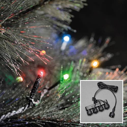 Konstsmide LED Lichterketten-System-Basis 31V Lichterkette Warmweiß