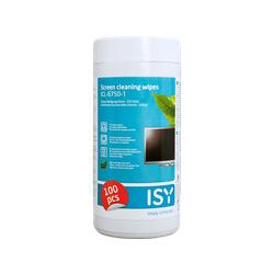 ISY ICL-6750-1 Reinigungstücher Weiß