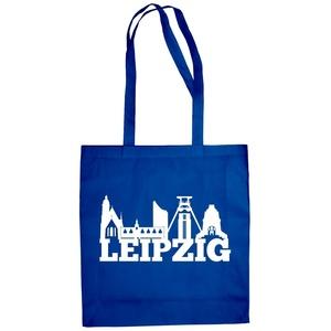 Jutebeutel - Leipzig Skyline - Sachsen Osten Heimat Rb