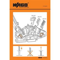 WAGO 210-423 Handhabungsaufkleber 100St.
