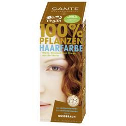 SANTE Pflanzenhaarfarbe - nussbraun 100 g