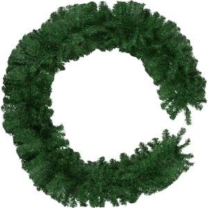 Weihnachtsgirlande grün