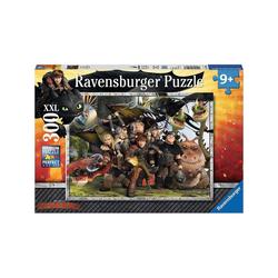Ravensburger Puzzle Puzzle, 300 Teile XXL, 49x36 cm, Dragons Treue, Puzzleteile