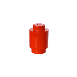 LEGO® Aufbewahrungsstein rund mit 1 Noppe in Rot