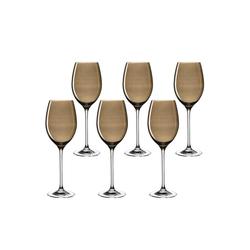 LEONARDO Weinglas LUCENTE Universalweinglas braun 6er Set (6-tlg)
