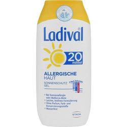 LADIVAL allergische Haut Gel LSF 20 200 ml