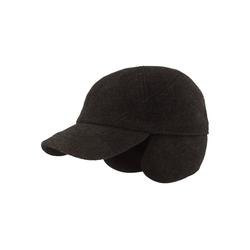 Breiter Baseball Cap mit Ohrenschutz und Teflon-Beschichtung grau 60