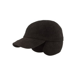 Baseball Cap mit Ohrenschutz und Teflon-Beschichtung grau 60