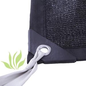 IDWOI Sonnenschutz Tuch Beschattungsnetz Isolieren Wärmeschutzpflanzen Sonnenschutz Wärmedämmung Senken Sie Die Temperatur, 27 Größe, Anpassbar (Color : Black, Size : 3x7m)