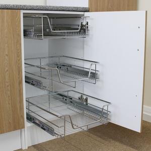 Schrankkörbe Regalkorb Korbauszug Küchenkörbe Aufbewahrung Schrankauszug 43cm T