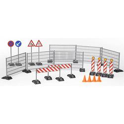 bruder Baustellen-Set Zubehörset für Spielzeugautos
