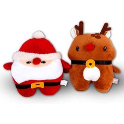 Kissenbezug Weihnachten Kissenbezug Set, BIGTREE, weihnachtsdeko