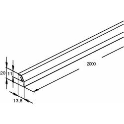 Niedax Konvektions-Gitterstab GKS 2000 G