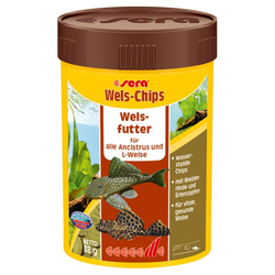 Sera Wels-Chips Fischfutter 250ml