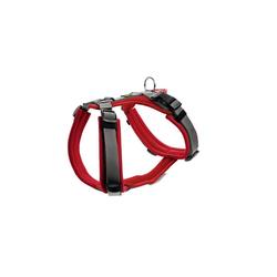 Hunter Hunde-Geschirr Maldon gepolstert, Mesh rot XL - 69 cm - 105 cm