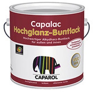 Caparol Capalac Buntlack hochglänzend, 375 ml Farbwahl, Farbe (RAL):RAL 9002 Grauweiß