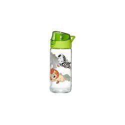 Ritzenhoff & Breker Trinkflasche HAPPY ZOO Trinkflasche 0,5l aus Glas