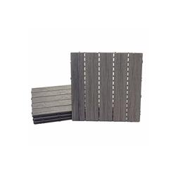 MCW WPC-Fliesen MCW-E19, Set, 4er Set, Keine Vor- und Nachbehandlungen notwendig 50 mm x 50 mm