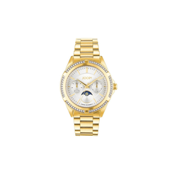 Joop! Quarzuhr Uhren,Flat Mineralglas,gold