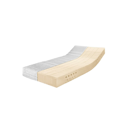 Latexmatratze Latexmatratze Premium TALALAY®, Ravensberger Matratzen, 23 cm hoch, mit Baumwoll-Doppeltuch-Bezug 200 cm x 90 cm x 23 cm