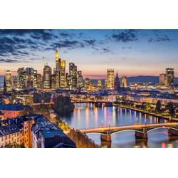Fototapete Frankfurt am Main, glatt 3,50 m x 2,60 m