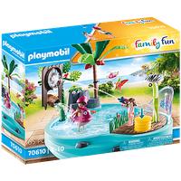 Playmobil Family Fun Spaßbecken mit Wasserspritze 70610