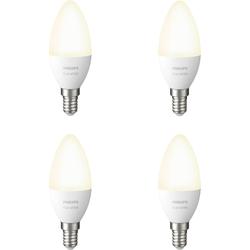 Philips Hue Kerzenlampe White E14 Bluetooth 4er-Pack