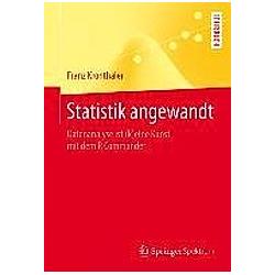 Statistik angewandt. Franz Kronthaler  - Buch