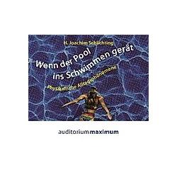 Wenn der Pool ins Schwimmen gerät  Audio-CD - Hörbuch