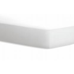 Schlafgut Spannbetttuch Jersey in weiß, 100 x 200 cm