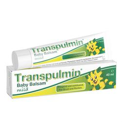 TRANSPULMIN Baby Balsam mild 40 ml