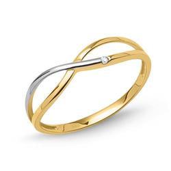 Zierlicher 333er Gold Ring mit Zirkonia