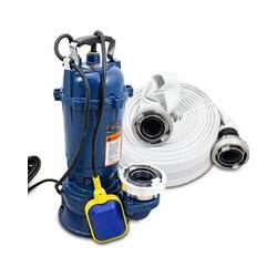Bituxx - 1100W Tauchpumpe Schmutzwasserpumpe für Brunnen Zisterne Bewässern Garten Pool bis 22800