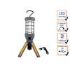 REV Ritter REV Strahler, Dimmbare LED Arbeitsleuchte, USB Arbeitslampe mit AKKU, Aufhängehaken, Handleuchte, Werkstattlampe