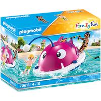 Playmobil Family Fun Kletter-Schwimminsel 70613