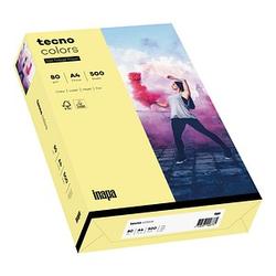 tecno Kopierpapier colors hellgelb DIN A4 80 g/qm 500 Blatt