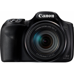 Canon PowerShot SX540 HS Superzoom-Kamera (20,3 MP, 50x opt. Zoom, WLAN (Wi-Fi), NFC, PictBridge-Unterstützung)