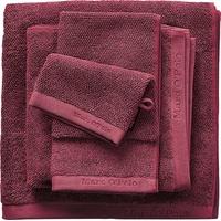 Marc O'Polo Timeless Uni Handtuch (2x50x100cm) burgund