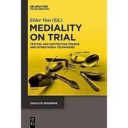 Mediality on Trial - Buch