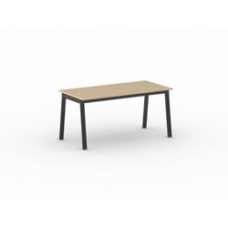 Tisch basic 1600 x 800 x 750 mm, birke