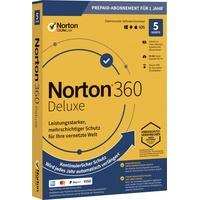 Symantec Norton 360 Deluxe 50GB GE 5 Geräte ESD Win Mac Android