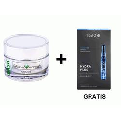 AloeVernis® BASIC aloe vera MOISTURE cream 50 ml + Geschenk Hydra Plus Ampull...