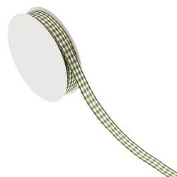 Karoband, moosgrün, 10 mm, 10 m