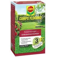 Floranid Rasendünger plus Unkrautvernichter 1,5 kg