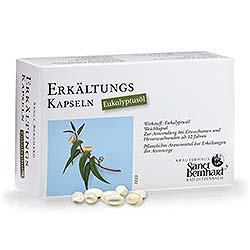 Erkältungs-Kapseln Eukalyptusöl