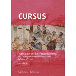 Cursus A neu 3 Leistungsmessung