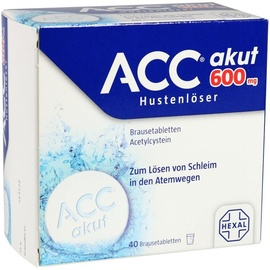 Hexal ACC akut 600 mg Brausetabletten 40 St.